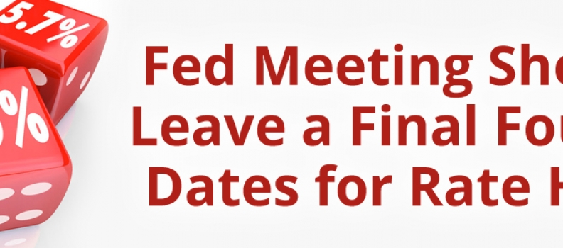 Fed Meeting Should Leave a Final Four of Dates for Rate Hike