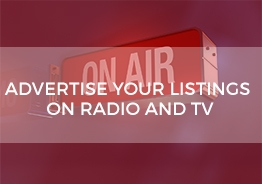advertise on radio and tv